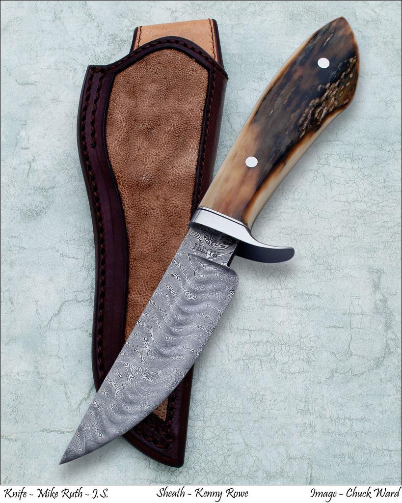 Damascus Knives@ Ruth Knives